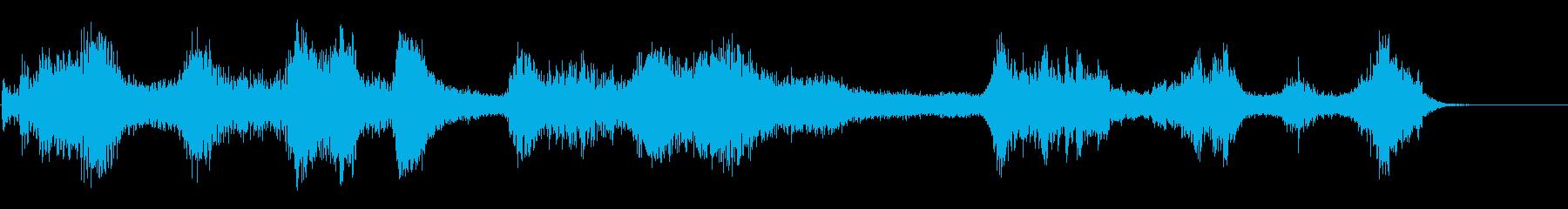 暗黒エネルギーの再生済みの波形
