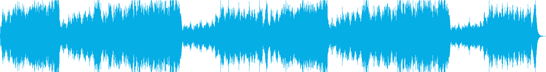 Fanfare + Hollywood-style BGM's reproduced waveform