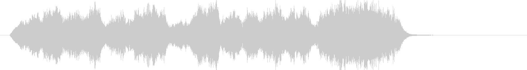 15秒CM向け 感動の弦楽四重奏の未再生の波形