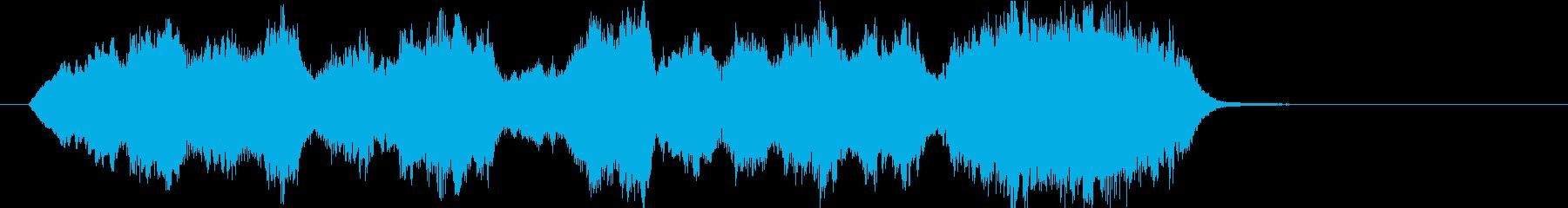 15秒CM向け 感動の弦楽四重奏の再生済みの波形