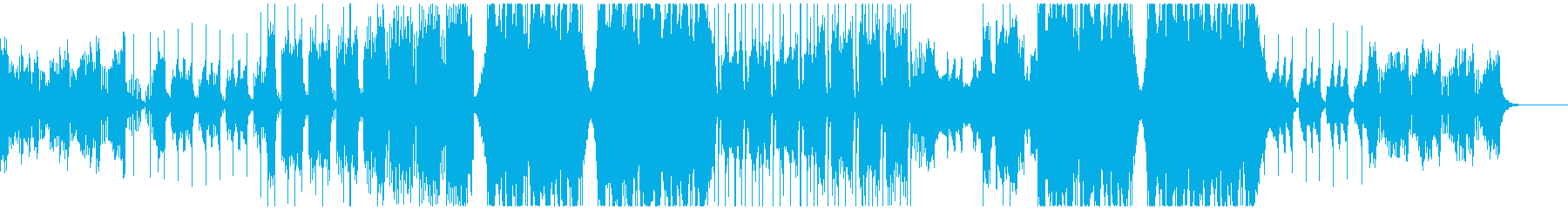 エモいフューチャーベースの再生済みの波形