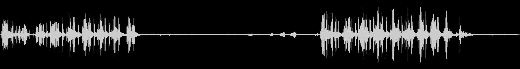 トロピカルクレーン:アラームスコークスの未再生の波形