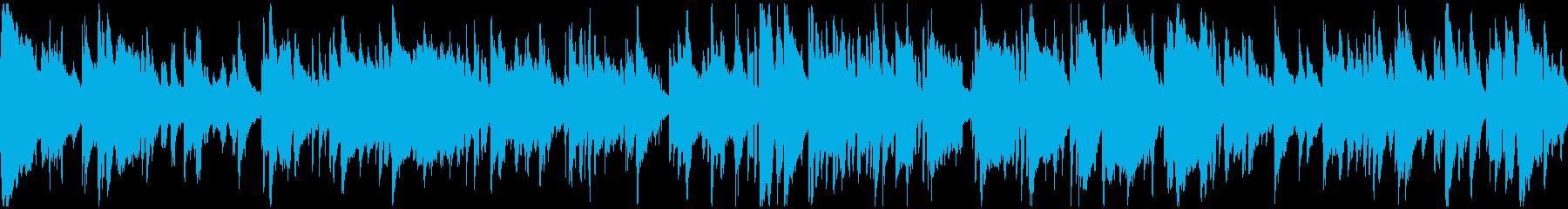 ハーレム感あるエッチなサックス※ループ版の再生済みの波形
