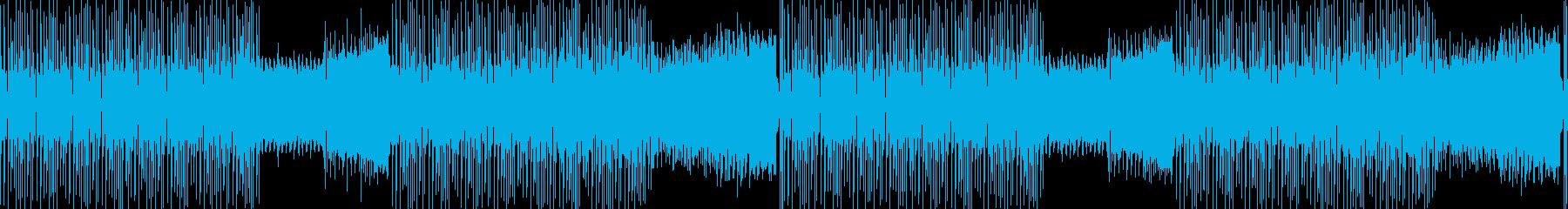 楽しい・わくわく・コミカル・軽快・EDMの再生済みの波形