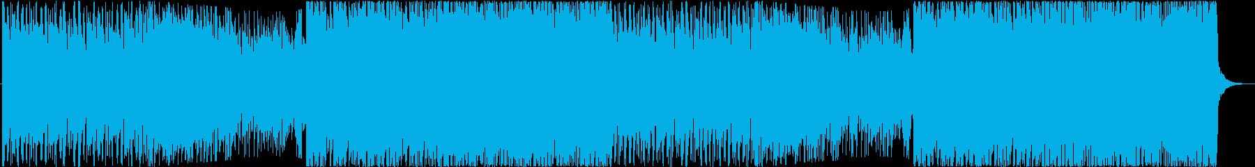 ポップで楽しいかわいいEDMの再生済みの波形