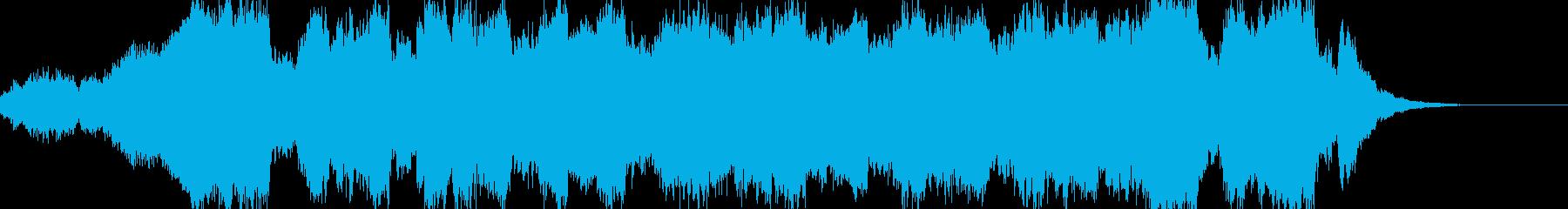 クライマックスに相応しい壮大なワルツの再生済みの波形
