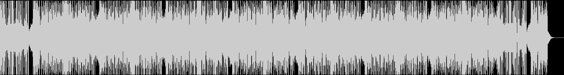 12秒でサビ、ダークエレクトロの未再生の波形
