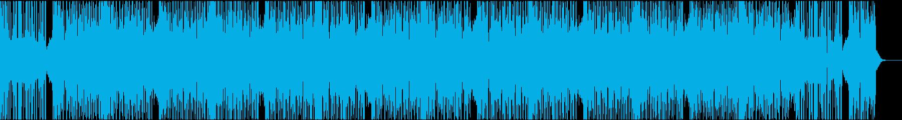 12秒でサビ、ダークエレクトロの再生済みの波形