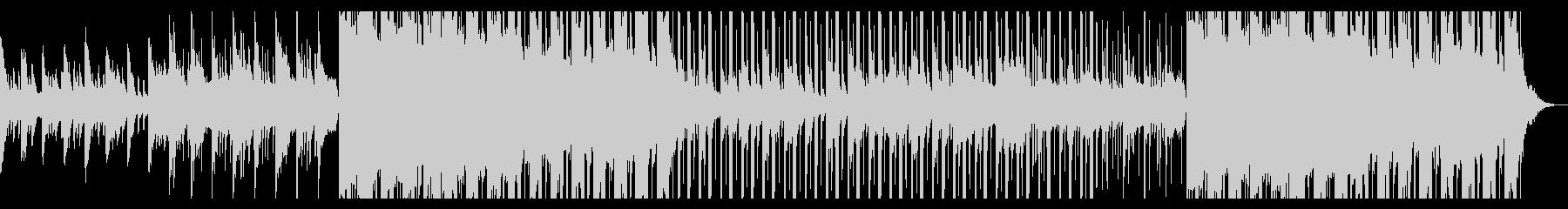 秋の帰り道、切ないピアノ、HIPHOPの未再生の波形