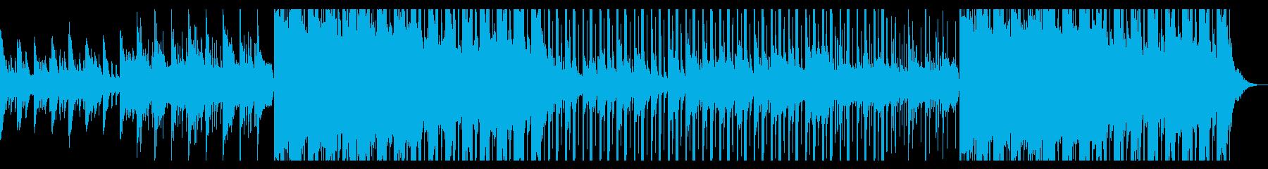 秋の帰り道、切ないピアノ、HIPHOPの再生済みの波形