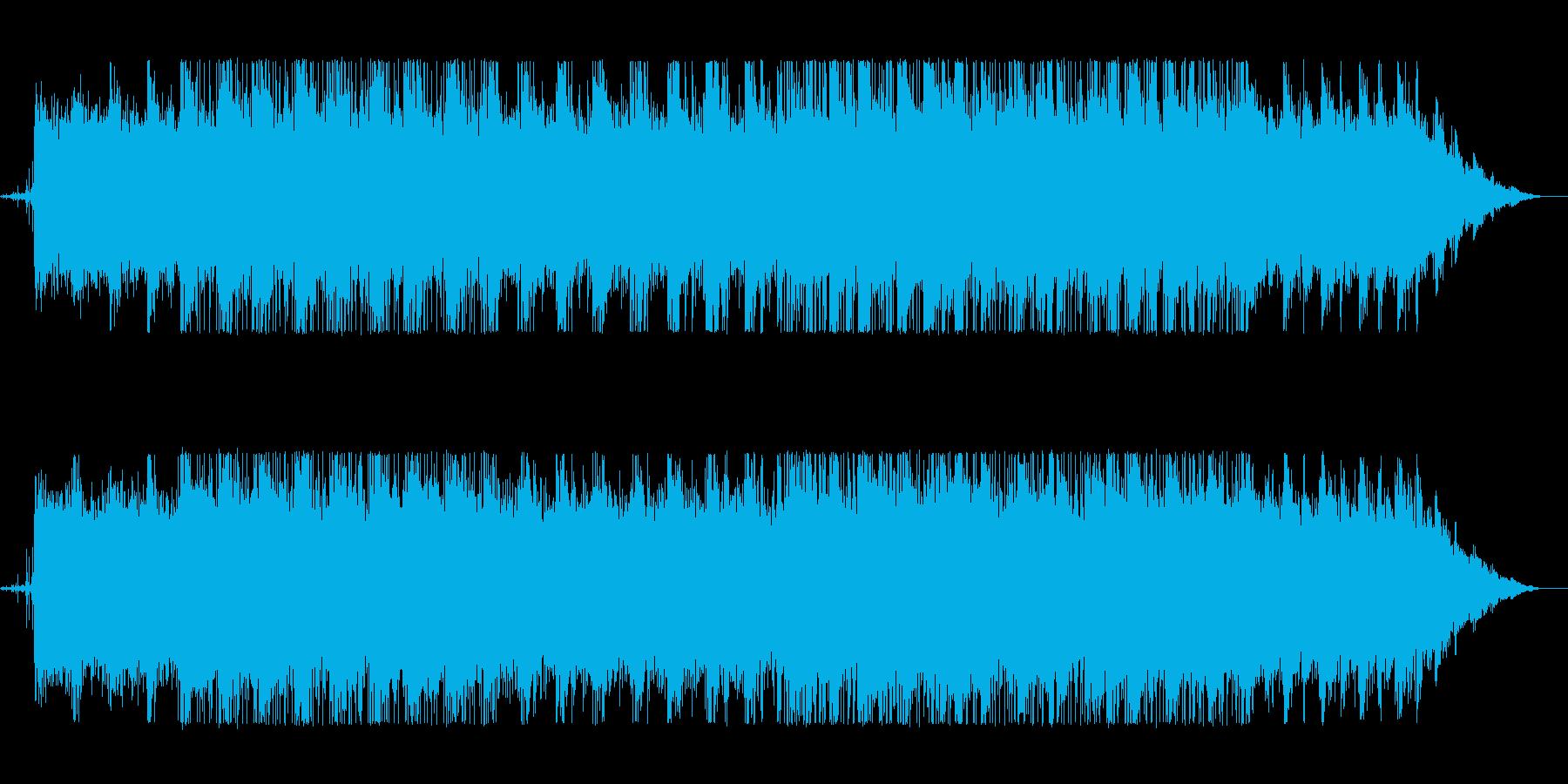 Chill/Healing系シリーズ曲4の再生済みの波形