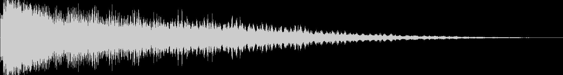 ディストーションスイープバージョン1の未再生の波形