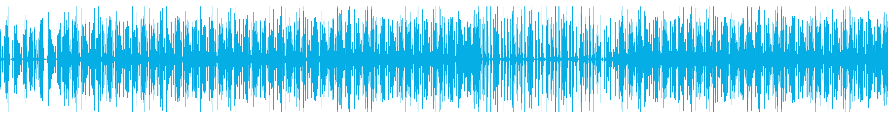 お洒落で大人な雰囲気の落ち着いた曲ループの再生済みの波形