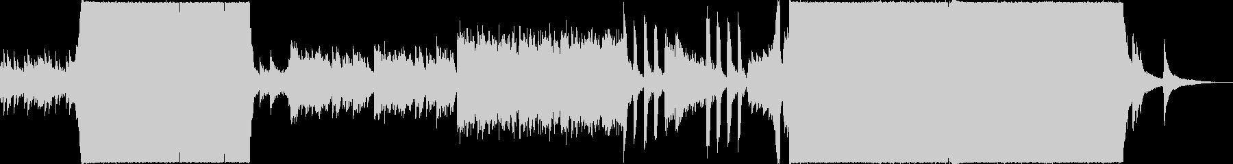 異世界感溢れる壮大な幻想的音ゲー系BGMの未再生の波形