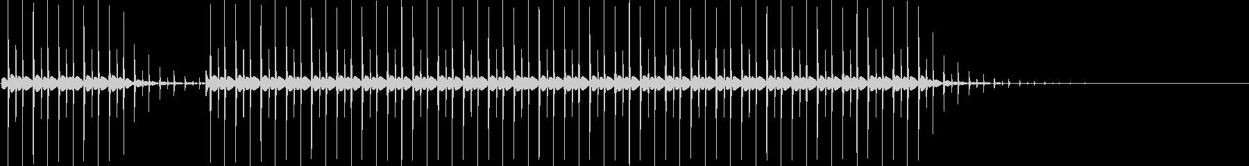 ブブー(クイズの不正解音)の未再生の波形