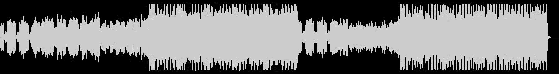 とてもハッピーなドラムンベースの未再生の波形