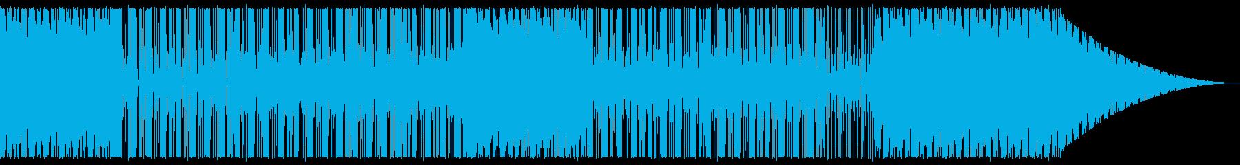 ブーンバップ・HIPHOP・レコード風の再生済みの波形