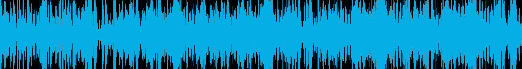 13秒でサビ、おだやか/ループの再生済みの波形