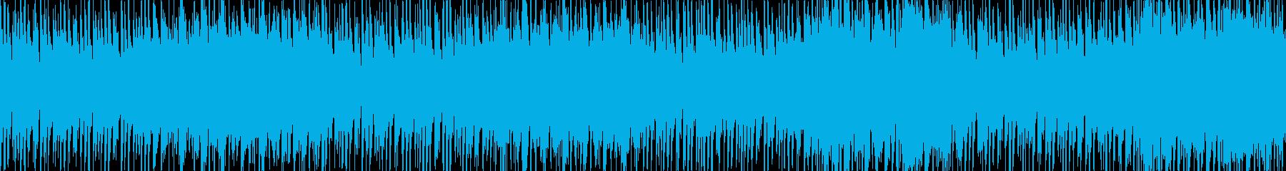和風・和太鼓・三味線・尺八・お祭りの再生済みの波形