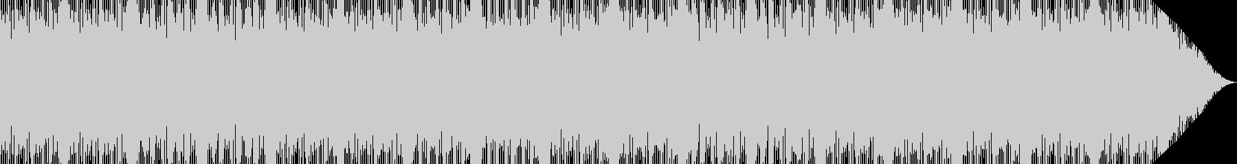 ベース音がメインの不可解な謎めいたBGMの未再生の波形