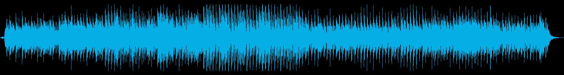 アジア系野性的なボイスが特徴的な民族音楽の再生済みの波形