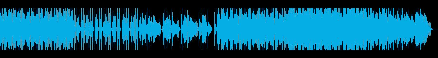 【短いVer3】スペーシーファンクの再生済みの波形