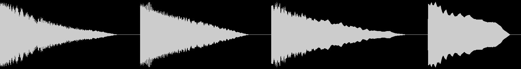 シグナルダウン、4バージョン、シグ...の未再生の波形