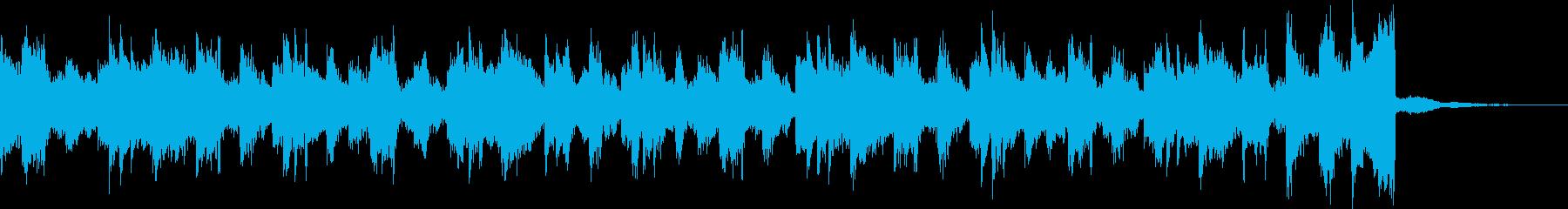チルアウト軽快爽やかなトロピカルハウスhの再生済みの波形