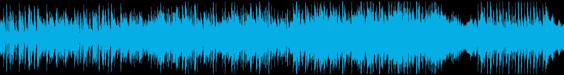 大正浪漫のおしゃれなワルツ(ループ)の再生済みの波形
