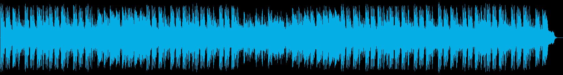 オリエンタルなメロディの中華街風BGMの再生済みの波形