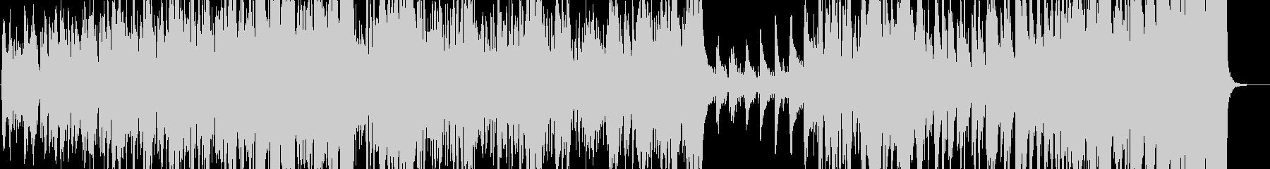 爽快で軽快なピアノトリオジャズの未再生の波形