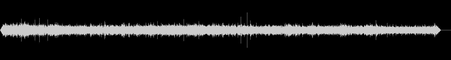 デパート-声-ステップの未再生の波形