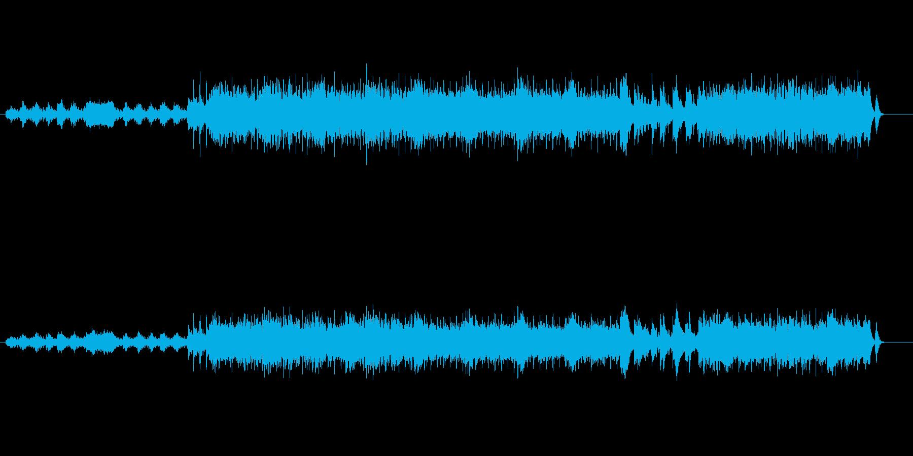 ヨーロピアン・ポップスの再生済みの波形