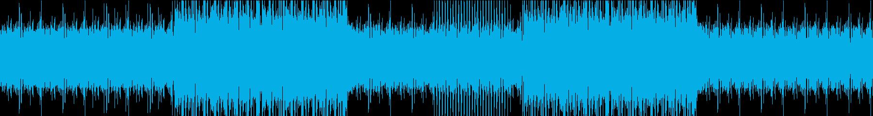 希望に溢れたポジティブなBGMの再生済みの波形