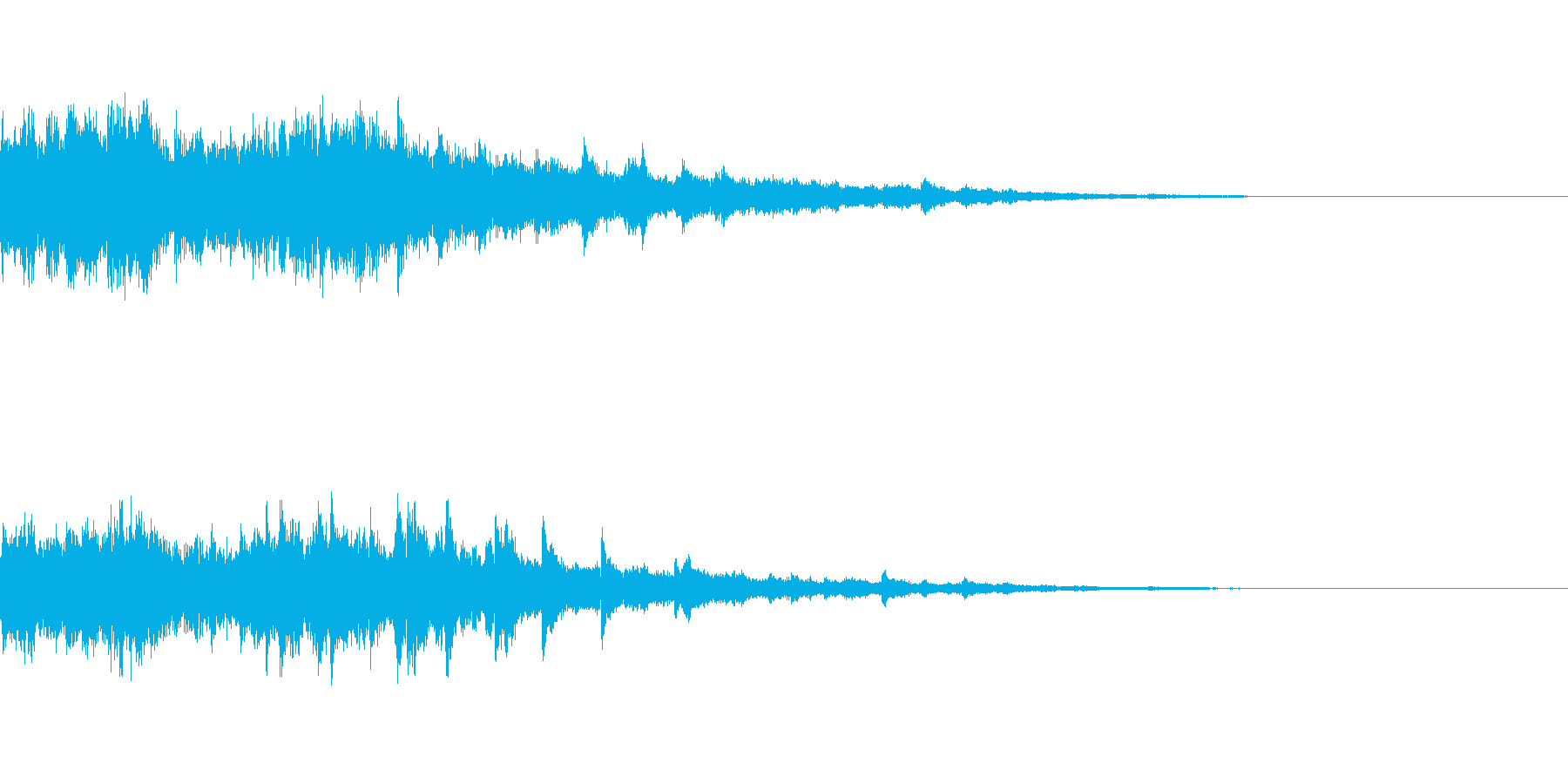 カジノスロット定番トップシンボル音4の再生済みの波形
