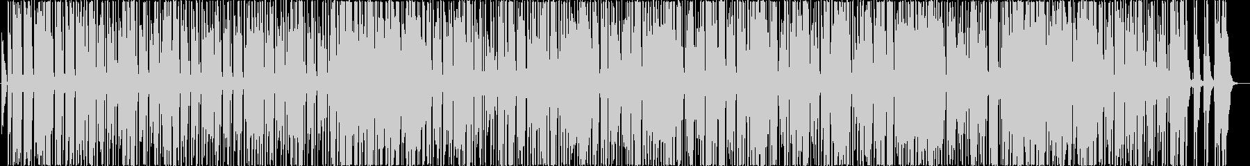 キャッチーなメロディが特徴なサウンドの未再生の波形