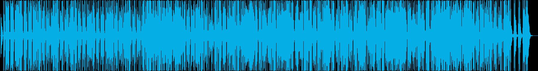 グルーヴの国では、オクターブダウン...の再生済みの波形