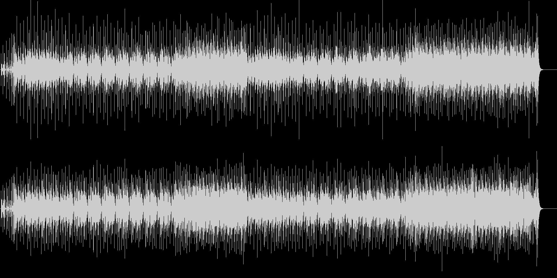 グレシャスなミディアム・ポップス(退場)の未再生の波形