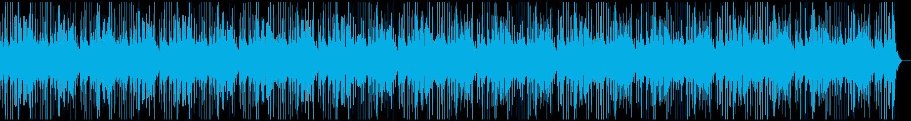 神秘・清楚で女性的な高音ピアノBGMの再生済みの波形