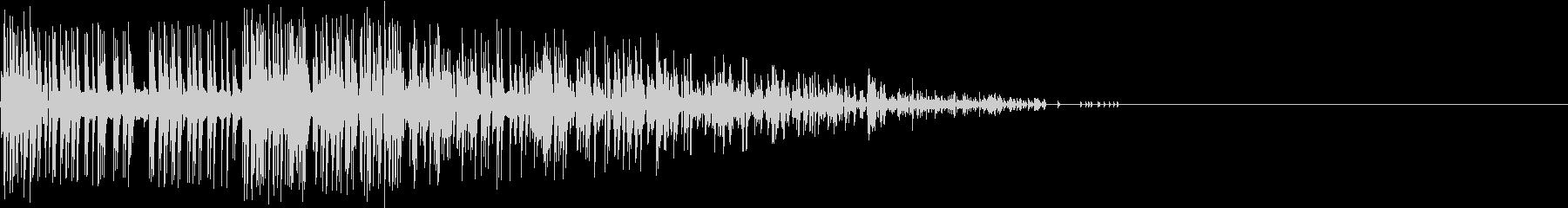 Noise デジタルノイズ 敵機 撃墜の未再生の波形