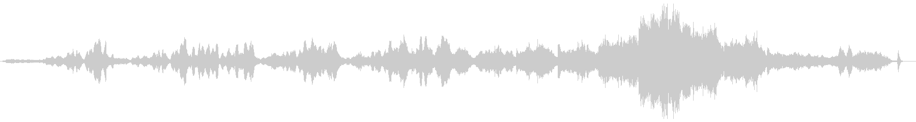 カルメンの間奏曲の未再生の波形