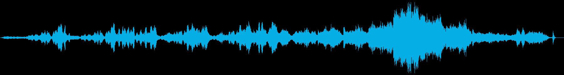 カルメンの間奏曲の再生済みの波形