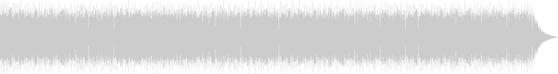 美しいケルト音楽の未再生の波形