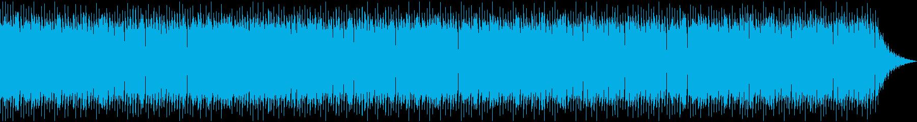 美しいケルト音楽の再生済みの波形
