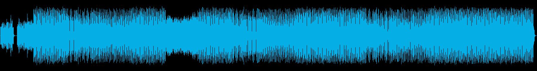 モダンなシンセメロディとドライビン...の再生済みの波形