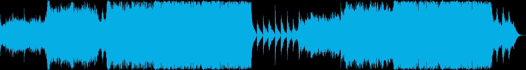 壮大で重厚なエピック音楽 感動シーンの再生済みの波形