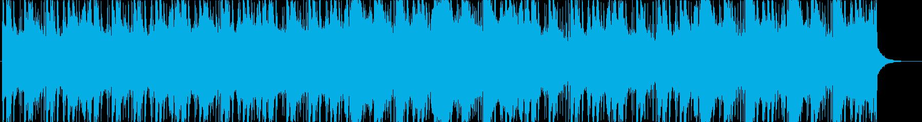 笙・琵琶等の和楽器を使った怪しげな曲の再生済みの波形