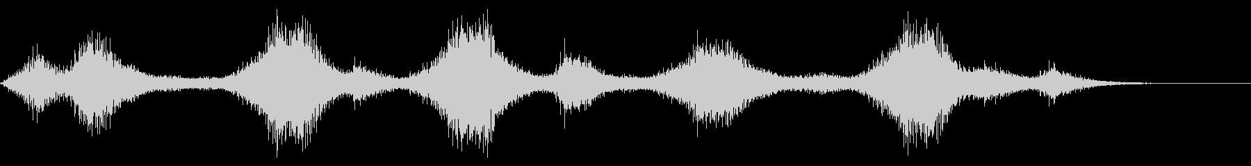 ホラーシャドウストーカー不気味な恐ろしいの未再生の波形