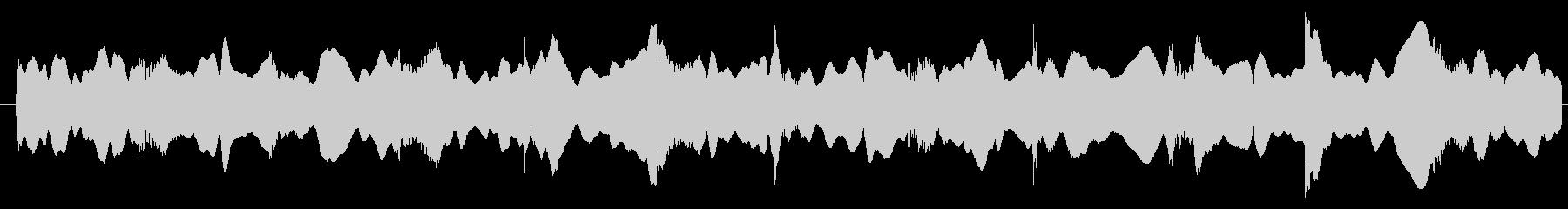 警察 サイレンEU 01の未再生の波形