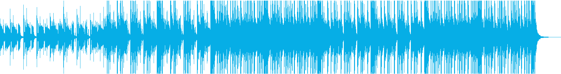 実験的 ポジティブ 明るい ファン...の再生済みの波形